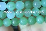 CAU365 15.5 inches 5mm round Australia chrysoprase beads