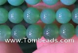 CAU371 15.5 inches 5mm round Australia chrysoprase beads