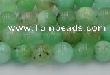 CAU402 15.5 inches 8mm round Australia chrysoprase beads