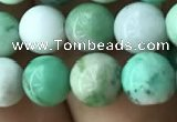CAU422 15.5 inches 7mm round Australia chrysoprase beads