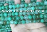 CAU442 15.5 inches 8.5mm - 9mm round Australia chrysoprase beads