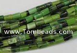 CAU45 15.5 inches 4*6mm tube Australia chrysoprase beads wholesale