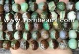 CAU456 15.5 inches 11mm - 12mm round Australia chrysoprase beads