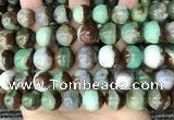 CAU457 15.5 inches 12mm - 13mm round Australia chrysoprase beads