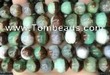 CAU458 15.5 inches 13mm - 14mm round Australia chrysoprase beads