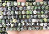 CAU521 15.5 inches 6mm - 6.5mm round Chinese chrysoprase beads