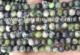 CAU522 15.5 inches 7mm round Chinese chrysoprase beads