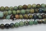 CAZ07 15.5 inches 6mm round natural azurite gemstone beads