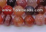 CBC404 15.5 inches 12mm A grade round orange chalcedony beads