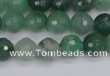 CBC701 15.5 inches 6mm faceted round African green chalcedony beads