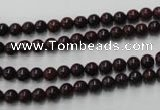 CBD150 15.5 inches 4mm round Chinese brecciated jasper beads