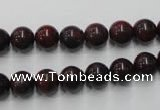 CBD152 15.5 inches 8mm round Chinese brecciated jasper beads
