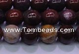 CBD304 15.5 inches 12mm round brecciated jasper beads wholesale