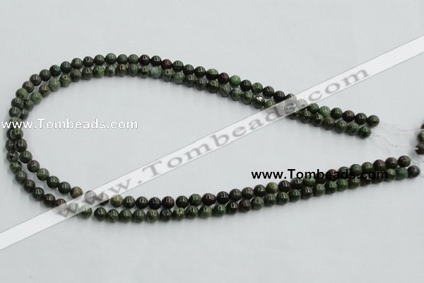 CBG01 15.5 inches 6mm round bronze green gemstone beads wholesale