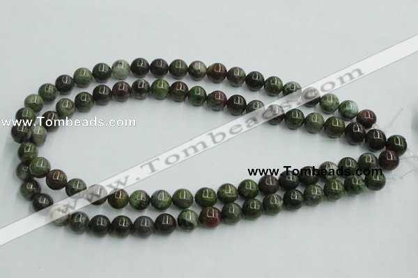 CBG02 15.5 inches 10mm round bronze green gemstone beads wholesale