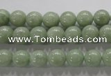CBJ302 15.5 inches 8mm round natural jade beads