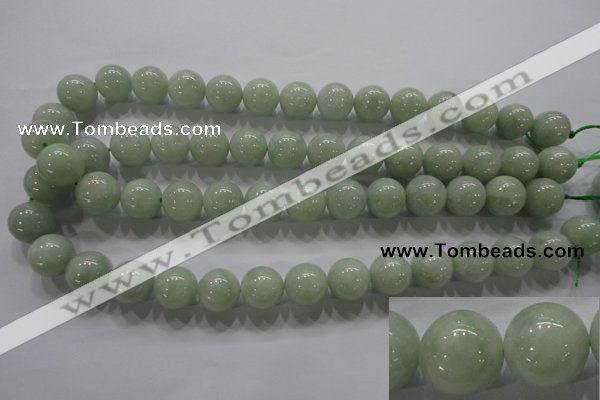 CBJ312 15.5 inches 14mm round A grade natural jade beads