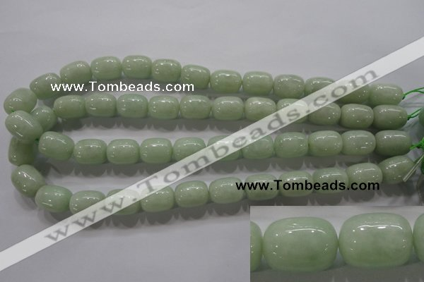 CBJ321 15.5 inches 12*16mm drum A grade natural jade beads