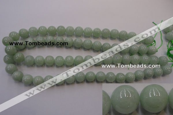 CBJ404 15.5 inches 12mm round natural jade beads wholesale