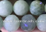CBJ668 15.5 inches 10mm faceted round jade beads wholesale