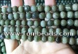 CBJ702 15.5 inches 8mm round green jade beads wholesale