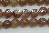 CBQ203 15.5 inches 10mm round strawberry quartz beads wholesale