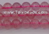 CBQ481 15.5 inches 6mm round strawberry quartz beads wholesale