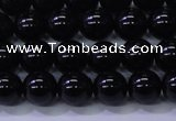 CBQ501 15.5 inches 6mm round natural black quartz beads
