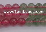 CBQ651 15.5 inches 6mm round mixed strawberry quartz beads