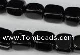 CBS220 15.5 inches 10*12mm � 12*16mm nuggets blackstone beads wholesale