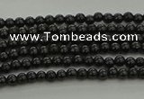 CBS538 15.5 inches 2mm round black spinel beads wholesale