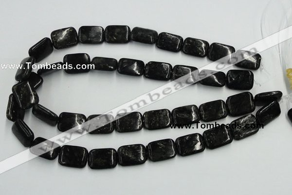 CBT07 16 inches 15*20mm rectangle natural biotite beads wholesale