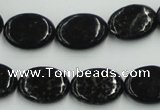 CBT09 16 inches 13*18mm oval natural biotite beads wholesale