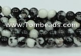 CBW101 15.5 inches 6mm round black & white jasper beads