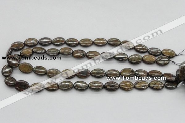 CBZ05 15.5 inches 12*16mm oval bronzite gemstone beads wholesale