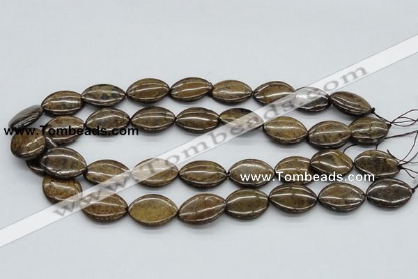 CBZ09 15.5 inches 18*24mm horse eye bronzite gemstone beads wholesale