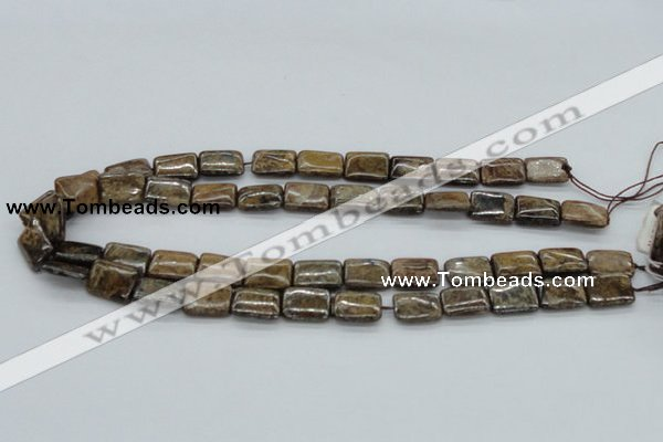 CBZ12 15.5 inches 12*16mm rectangle bronzite gemstone beads wholesale