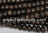 CBZ201 15.5 inches 3*6mm rondelle bronzite gemstone beads