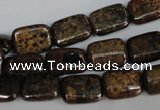 CBZ235 15.5 inches 10*14mm rectangle bronzite gemstone beads
