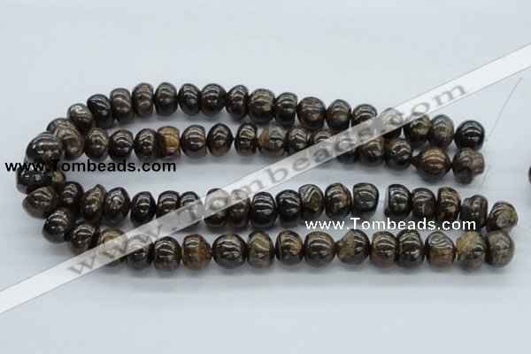 CBZ27 15.5 inches 10*14mm nugget bronzite gemstone beads wholesale