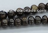 CBZ28 15.5 inches 7*10mm rondelle bronzite gemstone beads wholesale