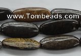 CBZ30 15.5 inches 10*27mm marquise bronzite gemstone beads wholesale