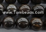 CBZ300 15.5 inches 16mm round bronzite gemstone beads wholesale