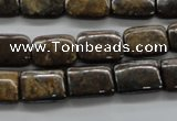 CBZ314 15.5 inches 10*14mm rectangle bronzite gemstone beads wholesale
