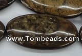 CBZ37 15.5 inches 25*45mm oval bronzite gemstone beads wholesale