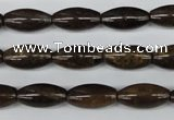 CBZ405 15.5 inches 8*16mm rice bronzite gemstone beads