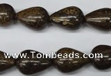 CBZ414 15.5 inches 13*18mm teardrop bronzite gemstone beads