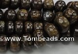 CBZ54 15.5 inches 7*10mm rondelle bronzite gemstone beads wholesale