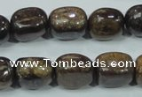 CBZ61 15.5 inches 12*15mm nugget bronzite gemstone beads