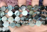 CCB504 15.5 inches 12mm coin jade gemstone beads wholesale